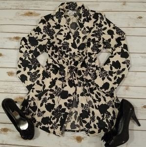 Charlotte Russe Floral Pea Coats